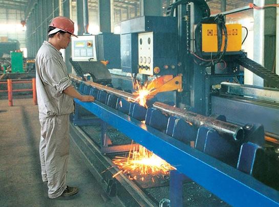 鋼管相貫線數控切割機