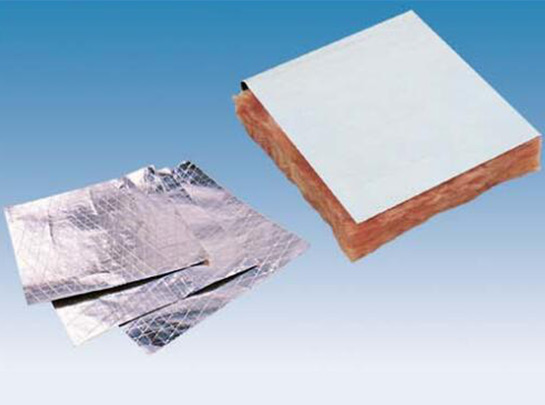 白色貼面、玻璃棉