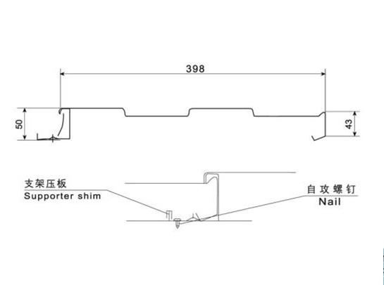 墻面系統——華強HV398型
